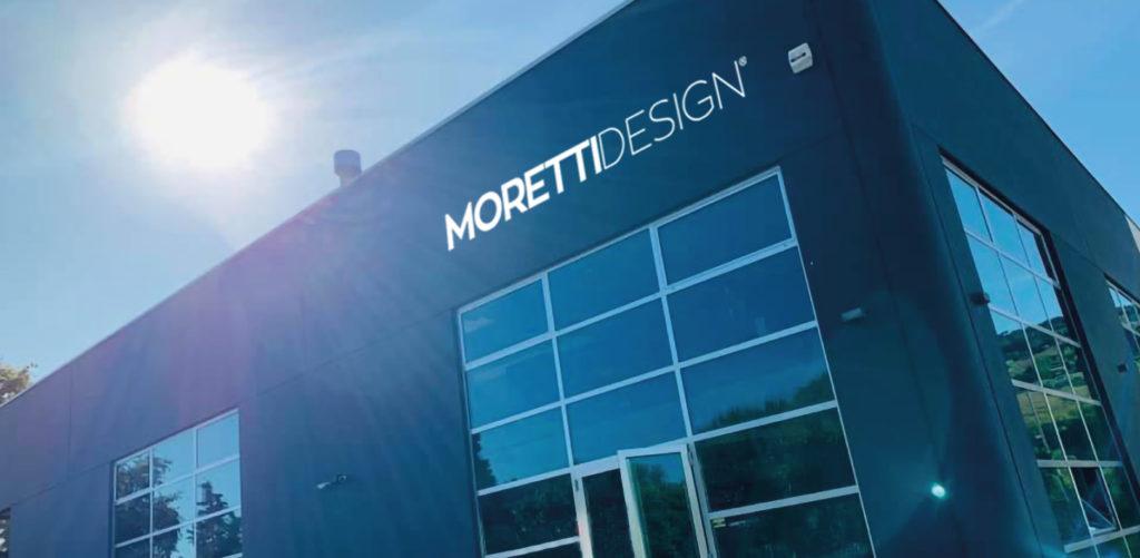 La sede Moretti Design