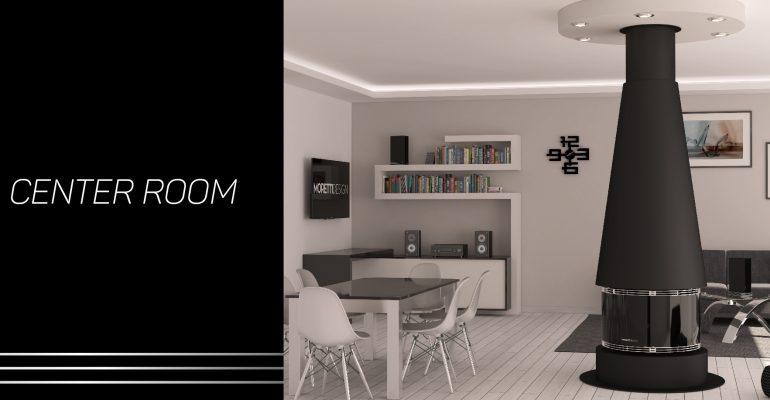 Center Room | Il camino a pellet al centro della tua abitazione