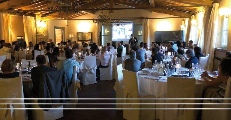 """""""Cena Moretti Design"""" – L'azienda incontra i suoi Top rivenditori del Nord Italia"""