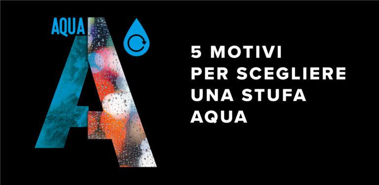 5 Motivi per scegliere una stufa Aqua
