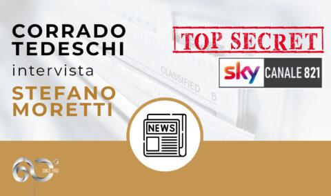 Top Secret di Sky, con Corrado Tedeschi, sceglie Moretti Design come miglior azienda per innovazione tecnologica e artigianalità nel settore del riscaldamento